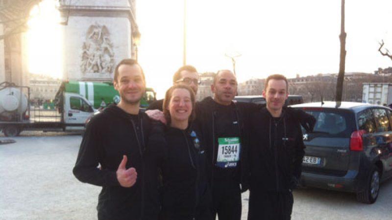 [Clin d'oeil] La team Free fait son marathon : Suis moi je te Free