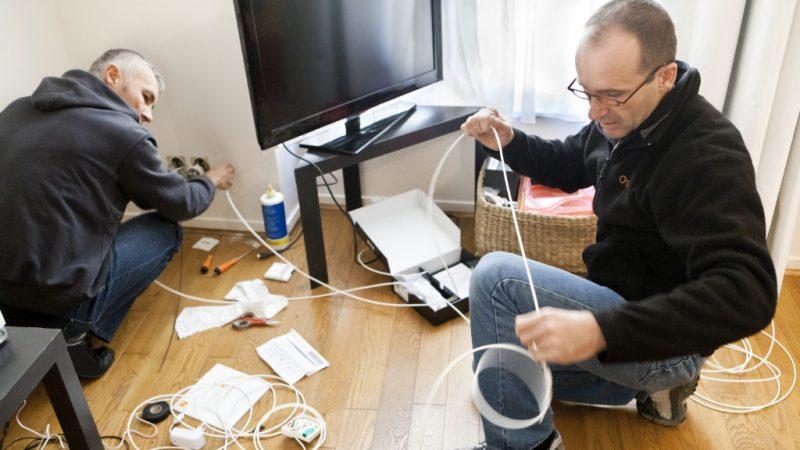 Plan THD : aller 4 fois plus vite pour installer les prises de fibre optique, c'est possible