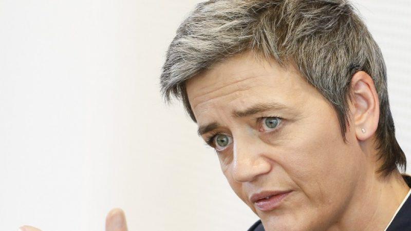 """GAFA : la commissaire européenne à la concurrence frappe fort en estimant qu'ils contribuent à """"détruire la démocratie"""""""