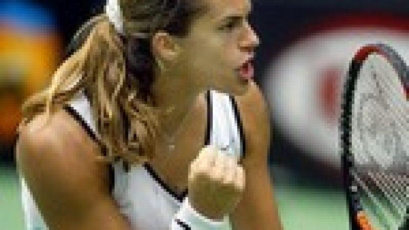 [Tennis] Amélie Mauresmo remplace Gad!