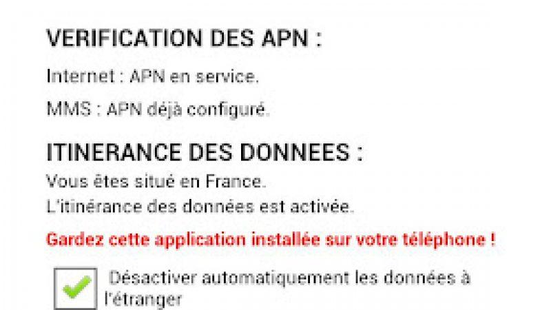 Mise à jour de Mobile Config (officiel) : gestion des données à l'étranger et sonnerie officielle Free