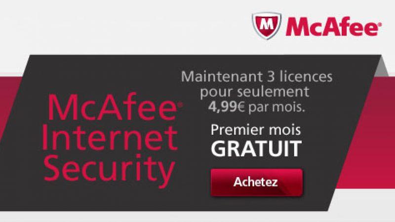 Free : Le service antivirus Mc Afee offert le 1er mois