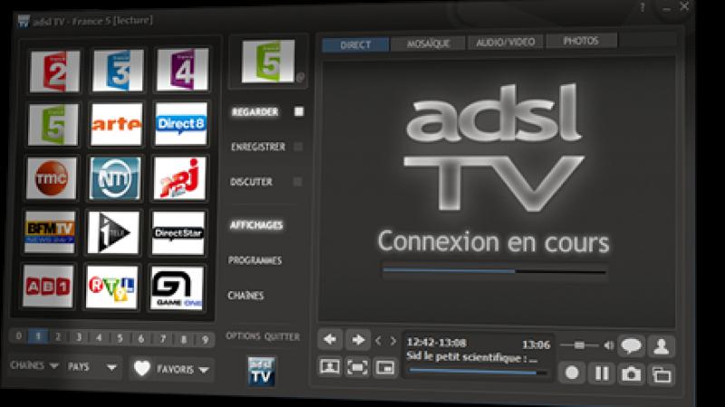Nouvelle version de ADSL TV