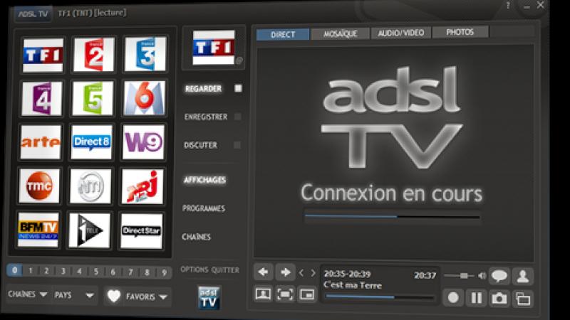 ADSL TV lance une nouvelle version estampillée 2012.1