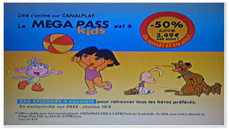 CanalPlay : Le Méga Pass Kids soldé pour l'été