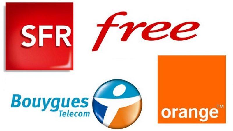 Boutiques, nombre de clients en fibre optique, taux de plaintes ou parts de marché : Capital compare les 4 opérateurs Français
