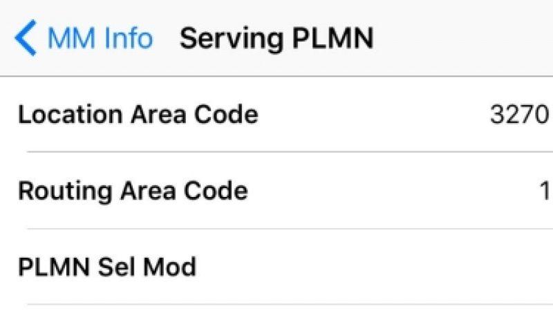 Comment savoir sur quel réseau et quelle antenne votre iPhone est-il connecté ?