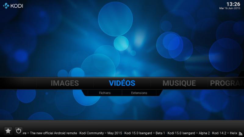 Freebox Mini 4K : l'appli à tout faire, Kodi
