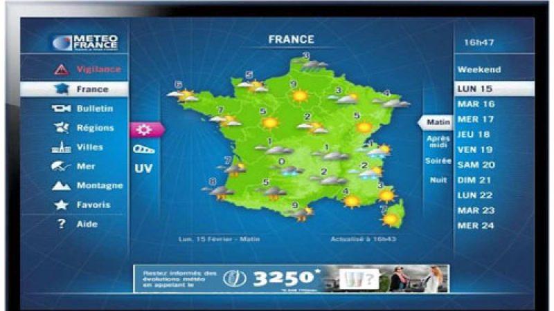 La chaîne interactive de Météo France sur la Freebox ?