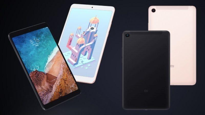 Xiaomi Mi Pad 4 : la dernière tablette nomade de la marque au prix agressif