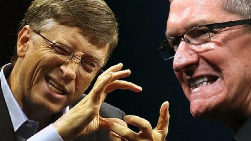 Bill Gates s'oppose à la décision d'Apple concernant le chiffrement de ses téléphones