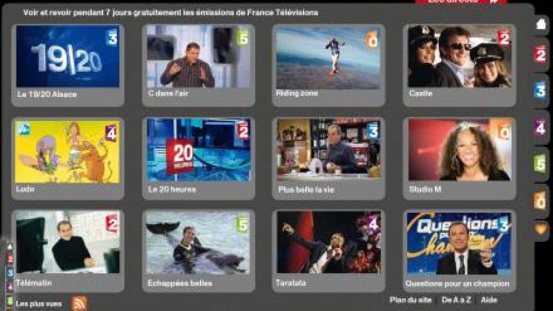 Freebox TV : La catch up de France Télévision sera accessible depuis la box en août ou en septembre.