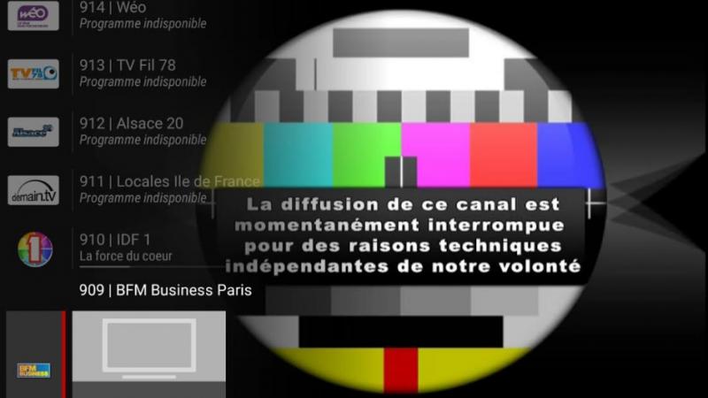 BFM Paris vient d'être lancée, mais le flux a été coupé sur la Freebox