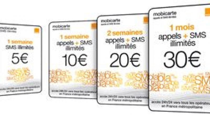 Offre prépayée : La riposte d'Orange face à Free Mobile