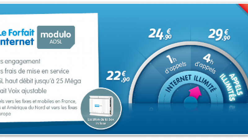Prixtel réajuste son offre ADSL pour les particuliers