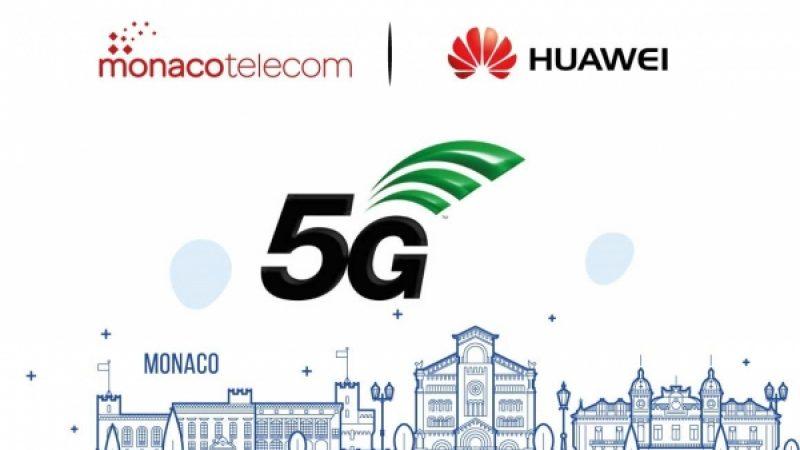 Monaco Telecom (Xavier Niel) et Huawei vont faire de Monaco le premier pays entièrement couvert en 5G