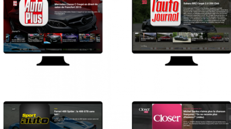 Freebox mini 4K : lancement des applications des magazines du groupe Mondadori sur Android TV