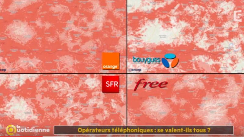 [Reportage France 5] Les offres mobiles de Free, Orange, SFR et Bouygues se valent-elles-toutes ?