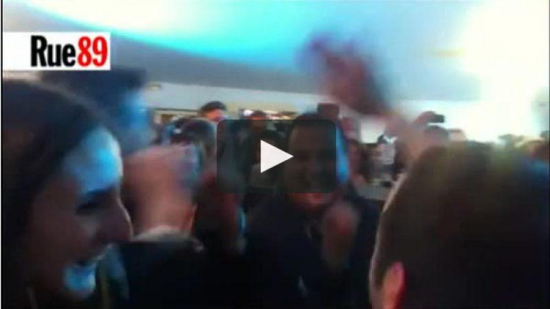 Clin d'oeil : Quand Arnaud Montebourg fêtait en dansant le lancement des forfaits Free Mobile
