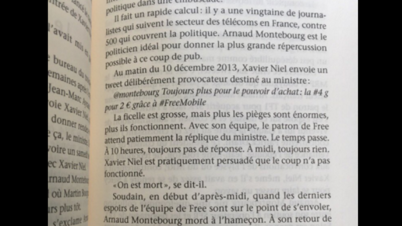 Comment Xavier Niel a piégé Montebourg et fait le buzz pour Free Mobile