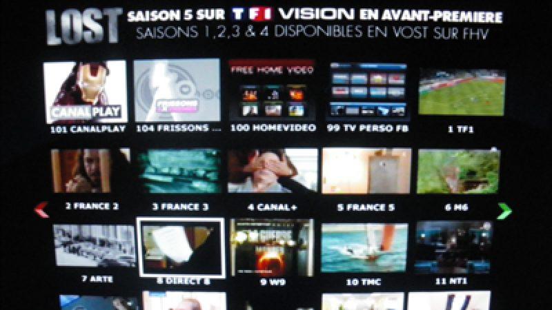 Freebox TV: nouvelle mosaïque TV
