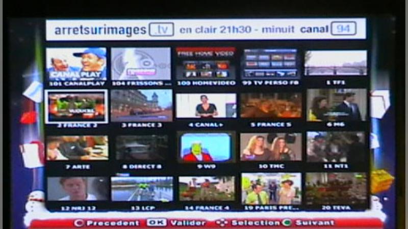 Freebox TV revêt son habillage de Noël
