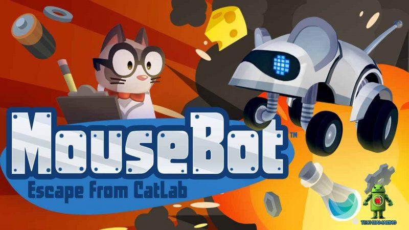 Mousebot : Échappez vous de labyrinthes piégés sur la Freebox Mini 4K