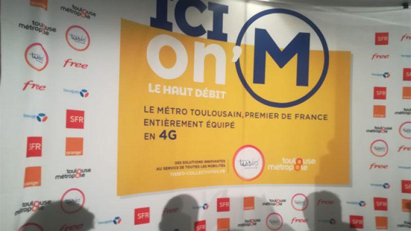 Free, Orange, Bouygues et SFR lancent la 4G dans tout le métro toulousain, une première en France