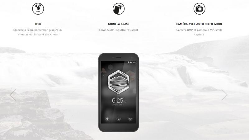 Le français Adar Telecom veut séduire le grand public avec un smartphone « ultra-résistant » et «waterproof »