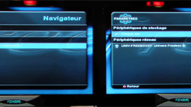 Freebox Révolution et Multi TV HD Light : Upnp désactivé ?