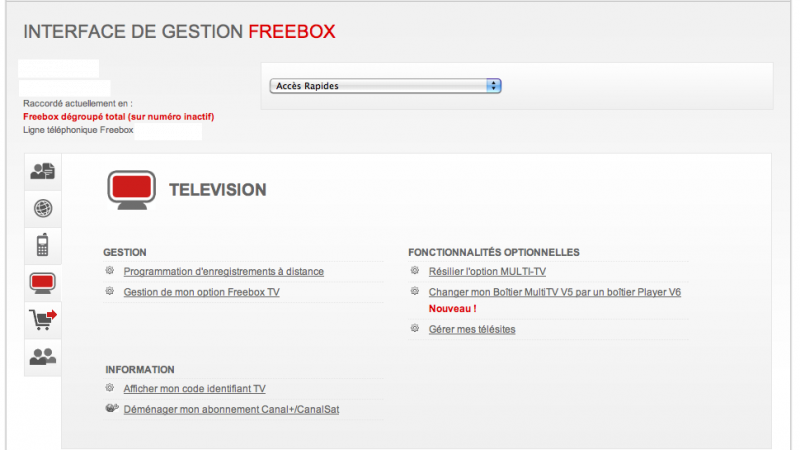 Freebox Révolution / Multi TV : Migration du boitier HD vers Player