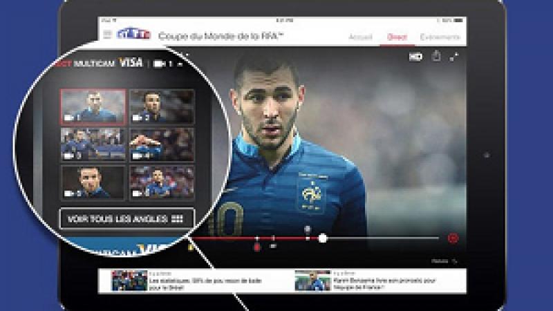 TF1 propose la Coupe du Monde 2014 sur multi-écran