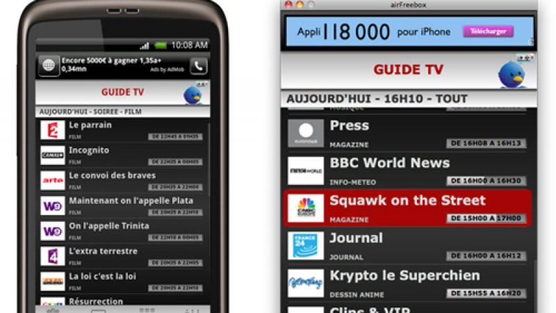 Airfreebox : la version 1.5 bientôt accessible sur votre smartphone et votre ordinateur