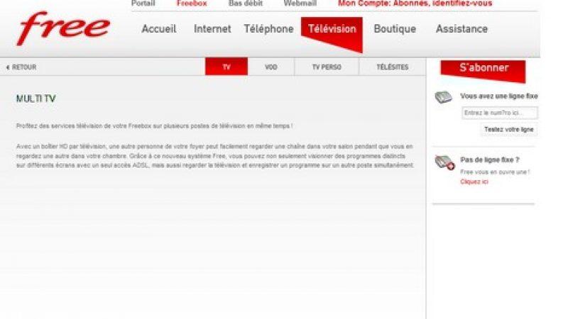L'option Multi TV bientôt disponible chez Free ?
