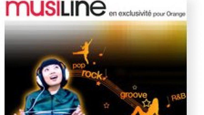 Orange Musiline, musique en ligne