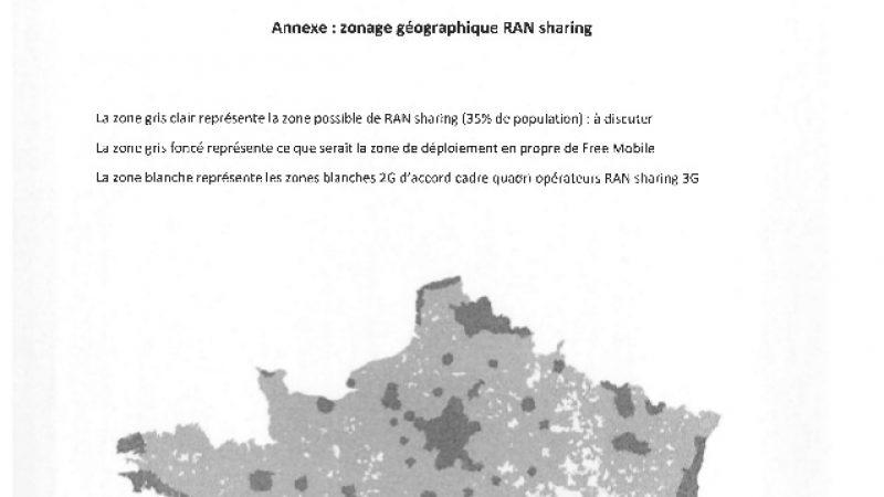 Free demande à faire partie de l'accord de mutualisation des réseaux mobiles entre SFR et Bouygues
