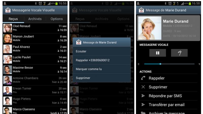 La Messagerie Vocale Visuelle de Free Mobile passe en version 1.12.5
