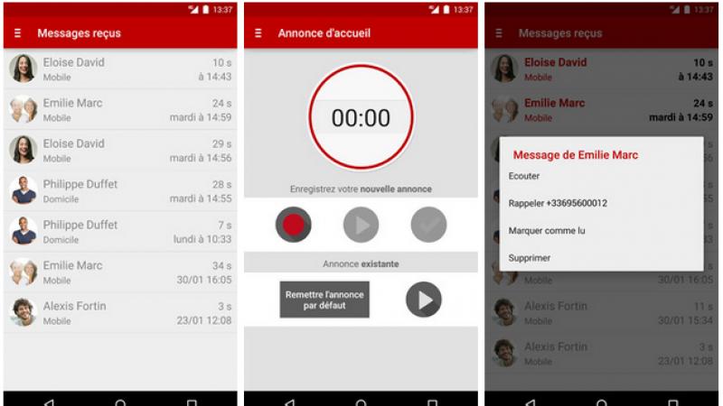Une mise à jour pour la version Android de la MVV Free Mobile