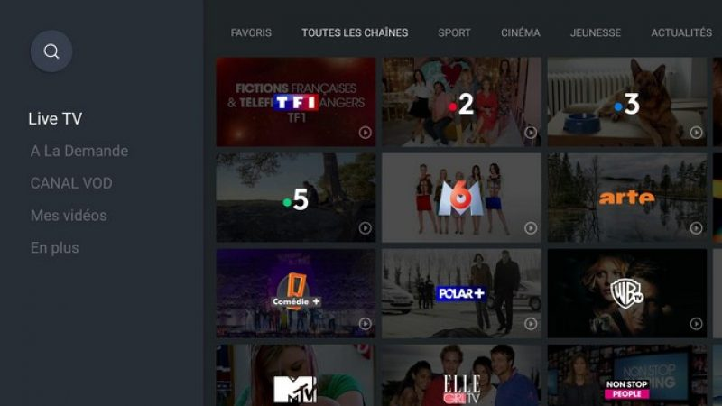 Freebox mini 4K : test de la nouvelle application myCANAL voulue plus moderne