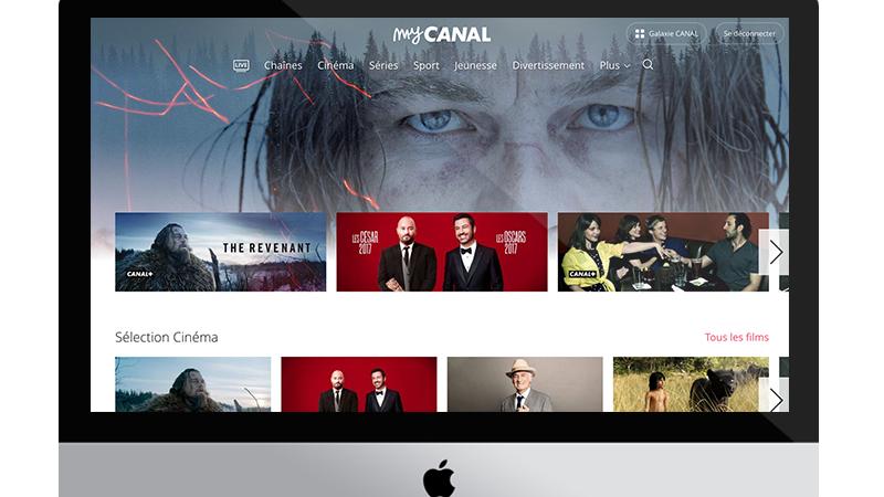 MyCanal lance une nouvelle interface en beta test sur le web, avec plusieurs nouveautés