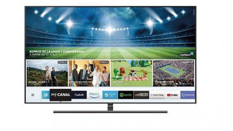MyCanal : le live en 4K fait son apparition sur les Smart TV de Samsung