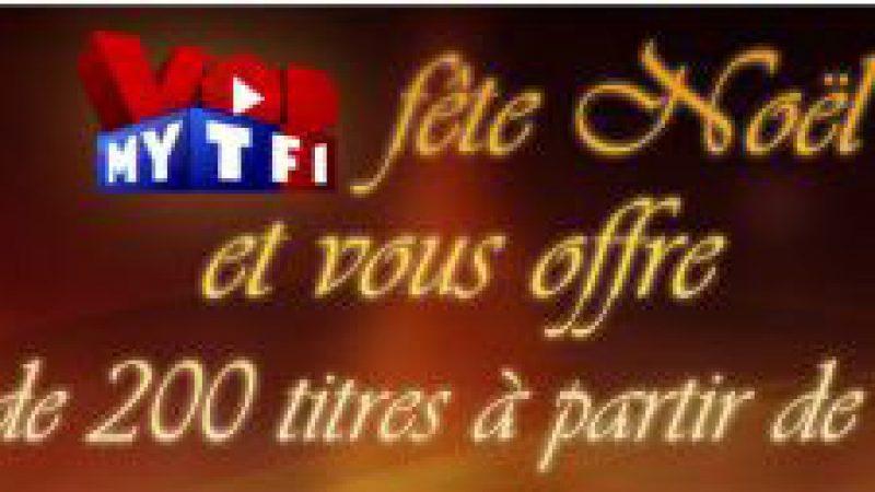 MyTF1 VOD offre 200 titres à partir d'un euro pour noël
