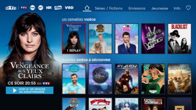 MYTF1 annonce être la 1ère plateforme de replay de France, la majorité des utilisateurs provenant des box