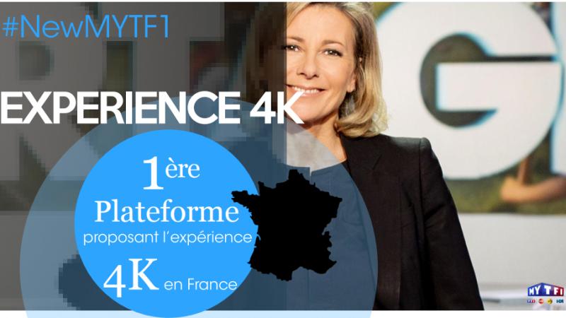 Les premiers contenus 4K arrivent, avec MYTF1, 1ère plateforme en France à proposer cette technologie
