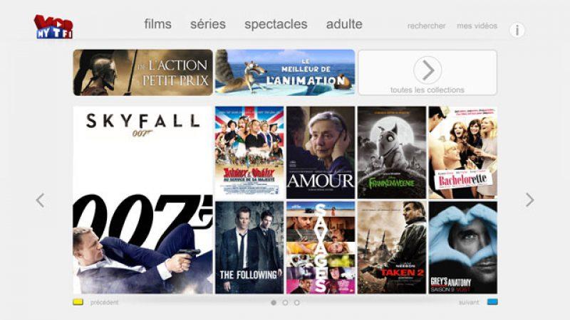 MYTF1 VOD : Bientôt une nouvelle interface chez Free et une offre spéciale pour les Freenautes