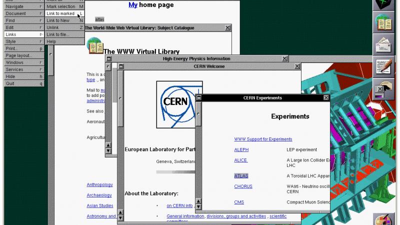 Il y a 20 ans, le World Wide Web (www) est né !