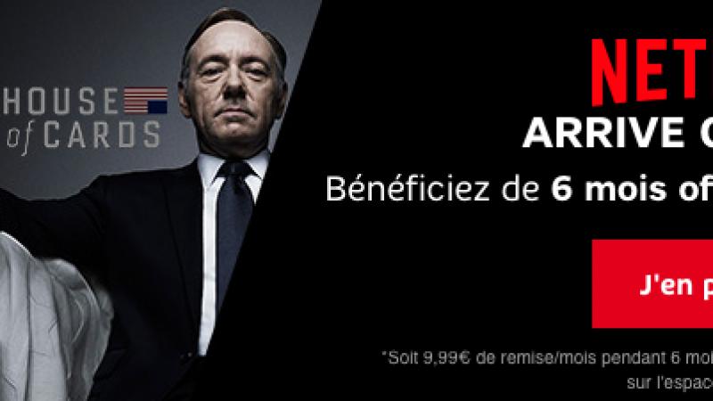 Netflix chez SFR, disponible avec 6 mois gratuits dans l'offre SFR Family