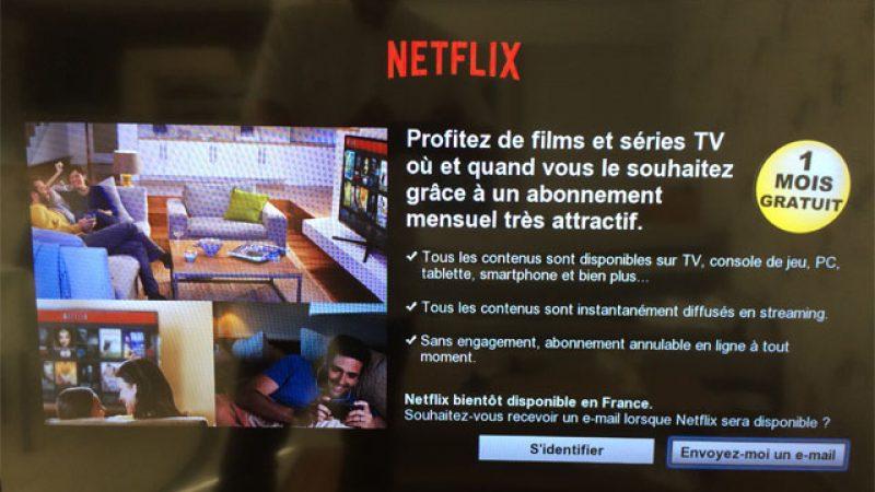 Netflix fait son pré-lancement sur les Smart TV et annonce 1 mois gratuit