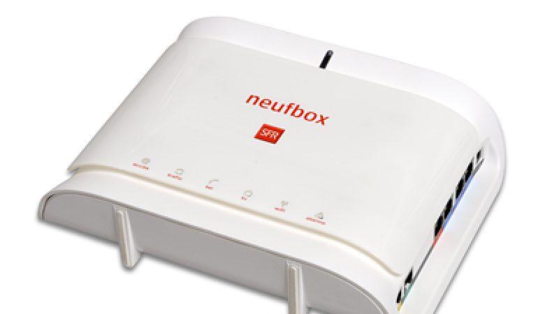SFR lance de nouveaux services pour sa NeufBox
