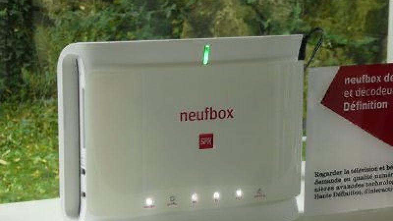 Nouvelle Neuf Box aux couleurs de SFR
